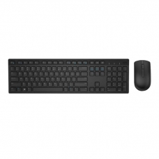 Dell KM636 (580-ADGH) bezdrátová multimediální klávesnice a myš, CZ, černá
