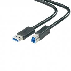 Dell USB 3.0, A-B - 1,8 m