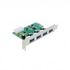 Delock 89363 PCI Express rozšíření PC o čtyři externí USB 3.0