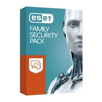 ESET Family Security Pack, roční licence pro tři PC a tři mobilní zařízení (EFSP003N1)
