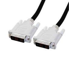 HP DVI-D kabel propojovací, 1,8 m, černý