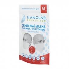 Nanolab protection ochranná nano rouška – balení 10 ks – velikost M – pro dospělé
