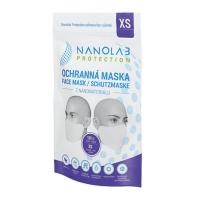 Nanolab protection ochranná nano rouška – balení 10 ks – velikost XS – dětská