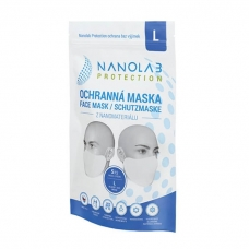 Nanolab protection ochranná nano rouška – balení 5 ks – velikost L – pro dospělé