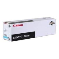 Originální azurový toner Canon C-EXV17C (CF0261B002AA)