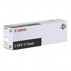 Originální žlutý toner Canon C-EXV17Y (CF0259B002AA)