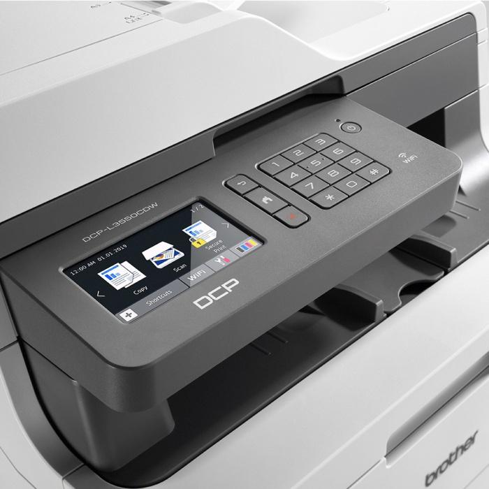 Brother DCP-L3550CDW LED barevná multifunkční tiskárna (záruka 3 roky)